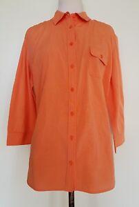 SPORTSCRAFT-Orange-Shirt-Size-16
