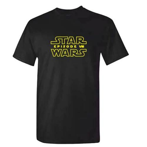 Written Logo Mens Childrens Episode 8 The Last Jedi Star Wars VIII TShirt