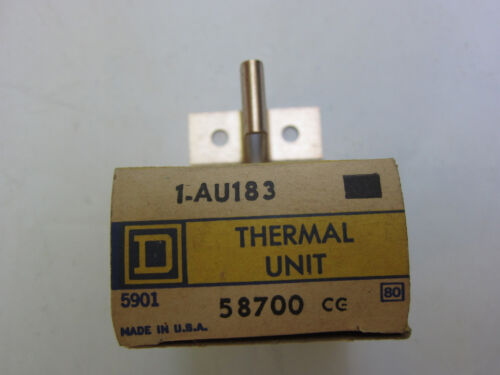 Square D AU183 Thermal Unit Overload Heater Heat Coil New