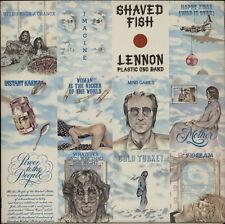 JOHN LENNON - Shaved Fish - 1975 UK first Apple label issue 12-track vinyl LP