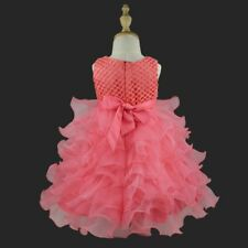 528f7b5a04 Flower Girls Princess Bow Dress Toddler Baby Wedding Party Pageant Tutu  Dresses