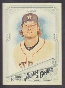 Topps-Allen-amp-Ginter-2018-Base-219-Gerrit-Cole-Houston-Astros
