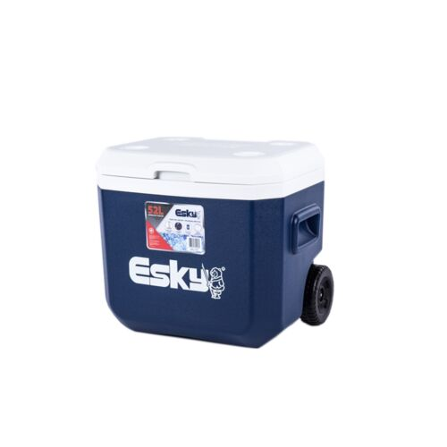 Genuine Esky 52L Wheeled Hard Cooler Heavy Duty Fast Shipping