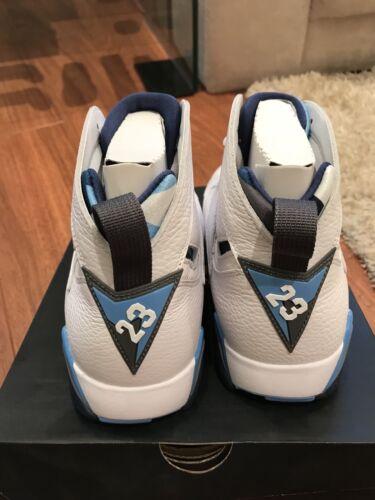 Uk9 Vii Blanc 7 Jordan Franais Retro Air Bleu 06xfRqB0w