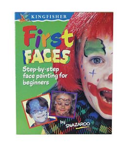 Snazaroo First Faces Face Painting Book For Beginners 605315500001