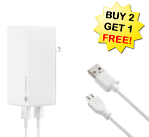 low priced bb681 2c9c5 Details about Mophie USB Wall Charger +BONUS 10FT Charge Cable Bundle Plus  Pack Juice Cord