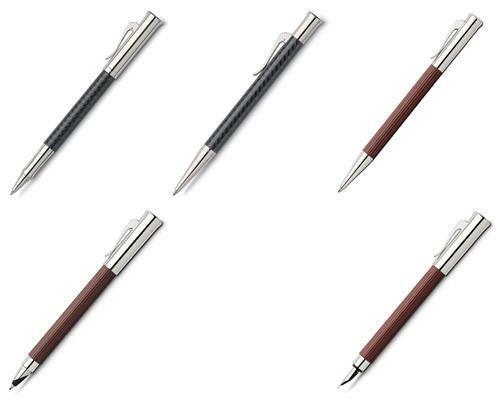 Graf von Faber Castell verschiedene Kugelschreiber und Füllfederhalter Füller