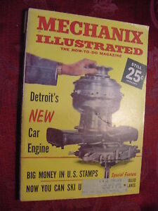 Details about MECHANIX Illustrated January 1961 Turbofan Engine Stamp  Collecting RC Airplanes