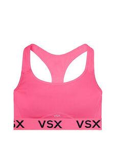 b906bde2c9ae5 VICTORIA'S SECRET VSX Sport Player Racerback Sport Bra Pink,Black Sz ...