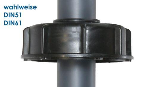 PVC sauglanze//sauggarnitur avec Soupape pour 5 à 60 L jerrycan din51//61
