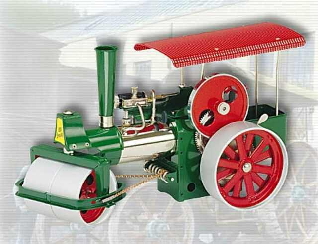 Made In Germany Wilesco D365 Toy Steam Engine Roller Au Special New