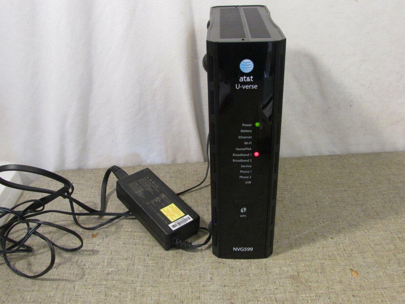At T Uverse Arris Motorola Nvg599 Gateway Modem Att Router For Sale Online Ebay