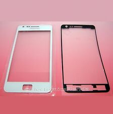 Replacement Front Glass Lens screen for Samsung Galaxy S2 i9100 White Repair US