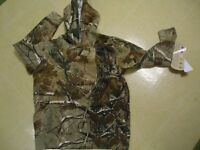 Boys Youth Camo Hoodie Xs (purchased As Size 4-6)