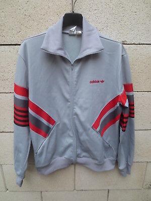 Veste ADIDAS vintage année 80 gris jacket Ventex tracktop jacke 174 M   eBay
