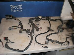 1989 ford mustang computer engine wiring harness v8 maf ecu pcm ecm rh ebay com Ford Aftermarket Wiring Harness 86 5 0 Injector Harness