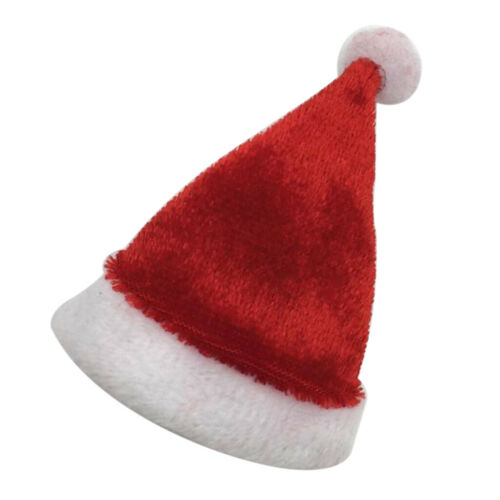 "5x 1//6 Xmas Christmas Hat Santa Cap for 12/"" Action Figure Body Toy Accessory"