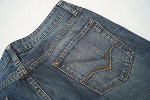 GUESS-Crescent-Herren-Men-Jeans-Hose-31-32-W31-L32-blau-stone-wash-TOP-AB2