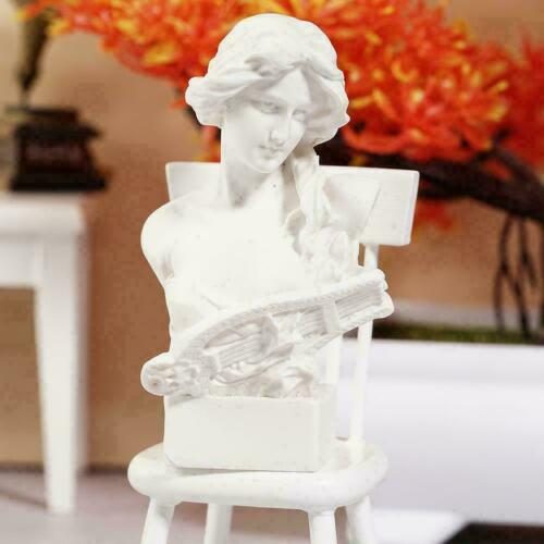 Resin 4034 dollhouse miniature 1//12 scale U2Z1 Hot Housework G8T4 Zither-