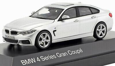 Bmw 4er 4 series f36 Gran Coupe plata 1:43 Kyosho