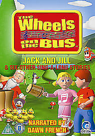 1 of 1 - Wheels On The Bus - Jack And Jill (DVD, 2010)