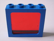 LEGO 4033 @@ Window 1x4x3 Train with All Studs Hollow 6781 6886 6895 6955 6986