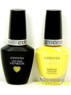 CUCCIO VENEER Polish Gel Color UV/LED Colour Match Makers #6156- Lemon Drop