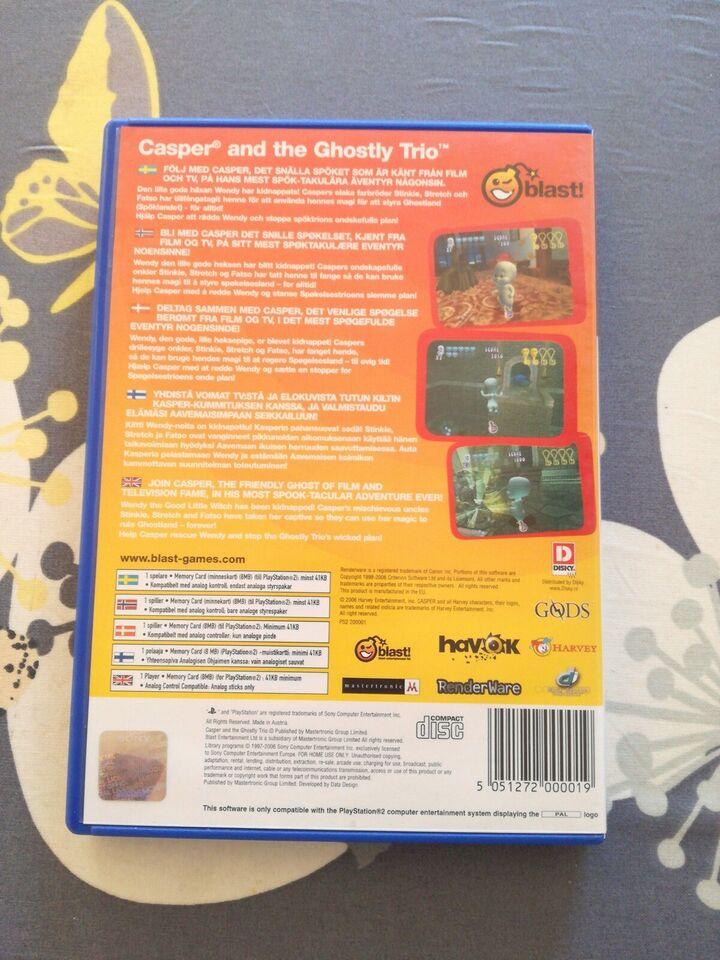 Casper and the ghostly trio, PS2