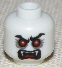 LEGO NEW MINIFIG LORD VAMPYRE VAMPIRE HEAD GLOW IN THE DARK FANGS DUAL SIDED