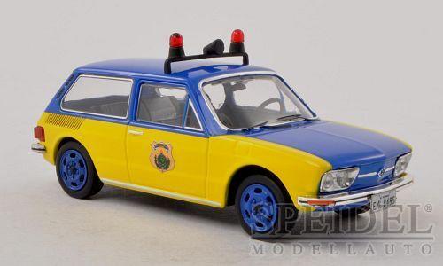 Merveilleux MODELvoiture  VW Brasilia  Polícia rodoviára fédéral  1975-bleu - 1 43  la qualité d'abord les consommateurs d'abord