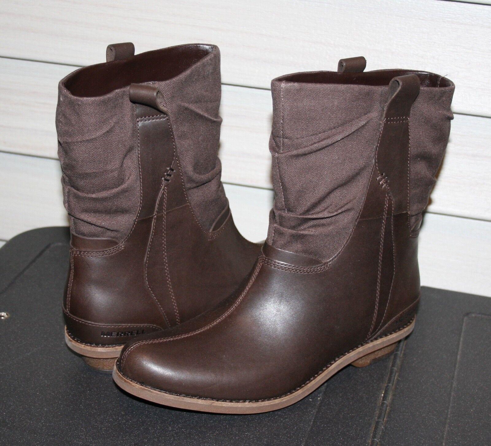 MERRELL ADALINE MID US 9 EU 40 Woman s Boot Brown