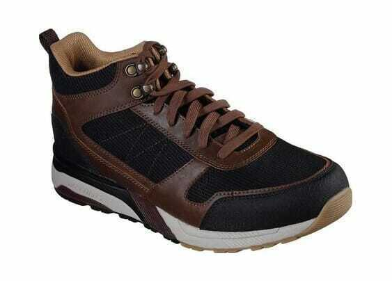 Hommes Skechers Relaxed Fit Norgen Cramer Turnchaussures marron