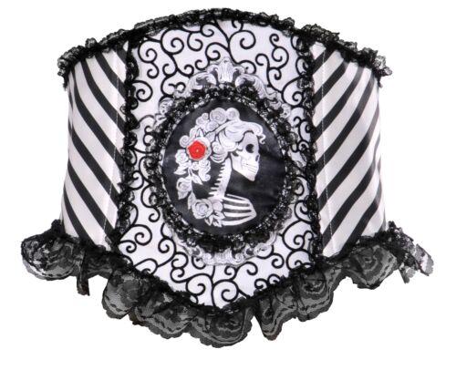 Opus Skeletal Waist Cincher Womens Day Of The Dead Dia de los Muertos Gothic O//S