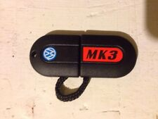 NEW VW MK3 GOLF JETTA GTI GLX LIGHTED PILL KEY UNCUT FAST FREE SHIPPING!