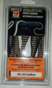 30 .30 32 .32 7.62 Caliber Pistol Gun Hoppe's Bore Snake Cleaner Free Shipping
