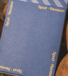 LIMITED Spud Revision Playing Cards