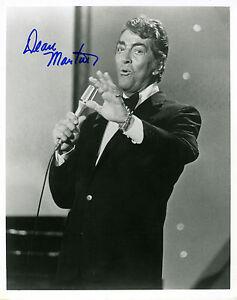 REPRINT DEAN MARTIN 1 Rat Pack autograph autographed signed photo copy