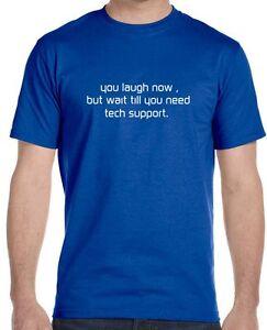 3adc736d Tech Support T-Shirt , Sheldon Cooper The Big Bang Theory   eBay