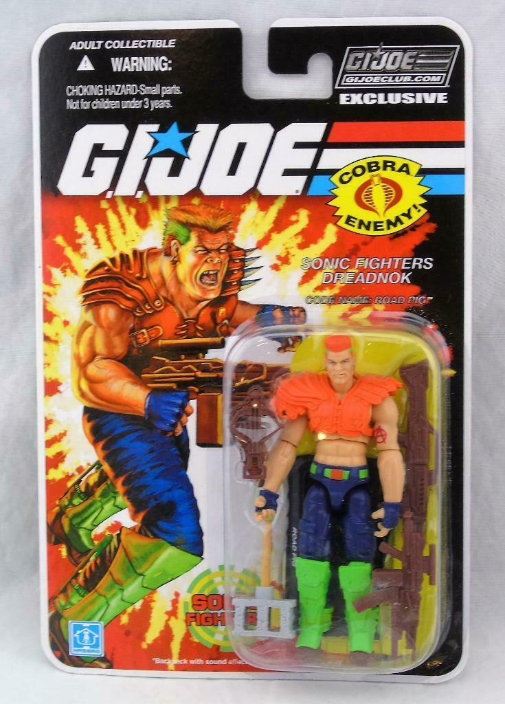 GI Joe Exclusive FSS Final 12 Sonic Fighters Road Pig MOSC Sealed