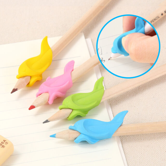 10Pcs Children Fish Pencil Holder Writing Hold Pen Grip Posture Correction Tool