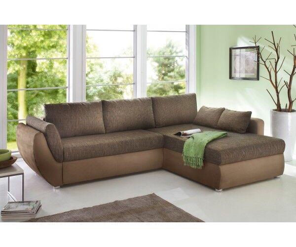 Couchgarnitur Wohnlandschaft Sofa Wohnzimmercouch Bettfunktion
