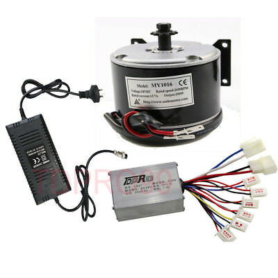 Brush 24V 250W Motor Speed Controller for Razor Bike Mobility Utility Tricycle