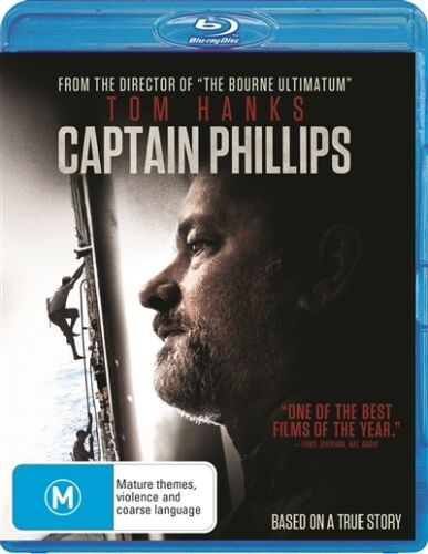 1 of 1 - Captain Phillips (Blu-ray, 2014) NEW