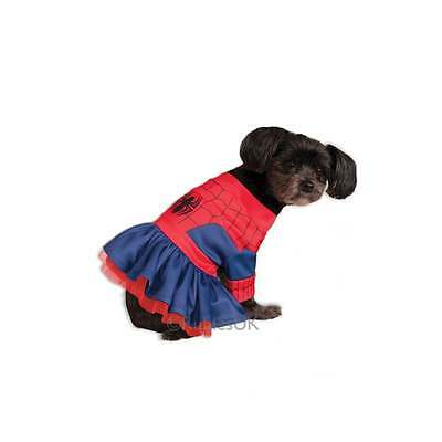 PET DOG PUPPY SUPERHERO FANCY DRESS COSTUME COAT HALLOWEEN CHRISTMAS GIFT OUTFIT