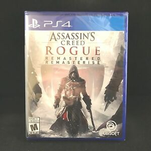 Assassin S Creed Rogue Remastered Ps4 Brand New Region Free Ebay