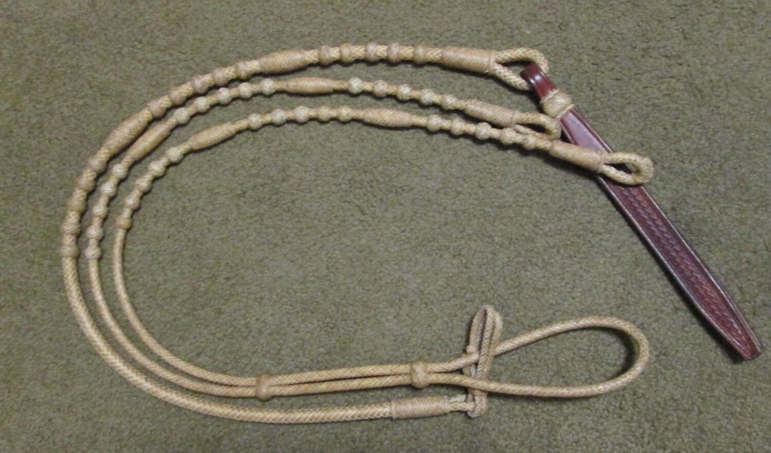 Romal Reins - Oklahoma Style - 12 plt. Short 42  without rein connectors