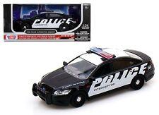 MOTOR MAX W/B 1:24 FORD POLICE INTERCEPTOR CONCEPT Diecast Car