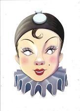 Maschera di CARNEVALE  (  B 11 )  -  PIERROT.................anni '60