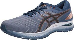 ASICS-Gel-Nimbus-22-Men-039-s-Glacier-Graphite-Grey-Synthetic-amp-Mesh-Shoes-13-M-US