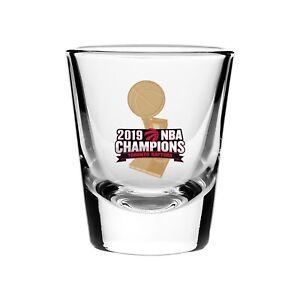 Toronto Raptors 2019 NBA Finals Basketball Champions 2oz Collector's Shot Glass